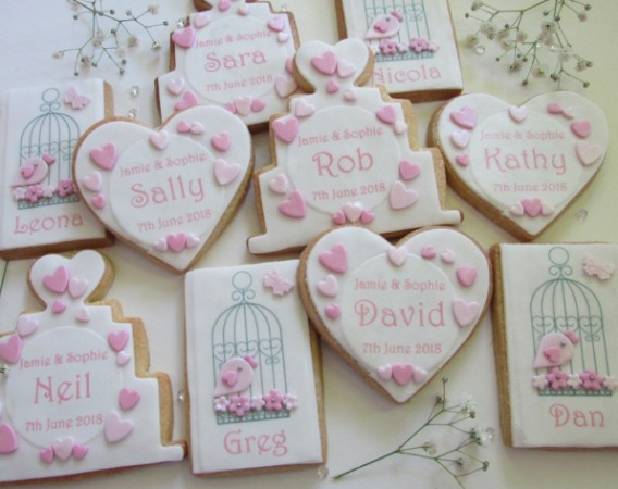 Bird Cage cookie