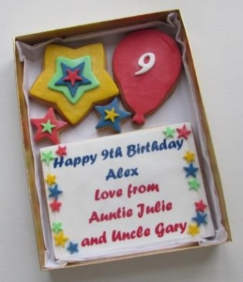 Bold & Bright Birthday Cookie Card